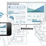 Epson iProjection proyectar contenidos desde tu móvil.