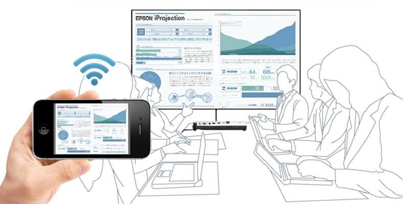 Epson iProjection proyecta contenidos desde tu móvil