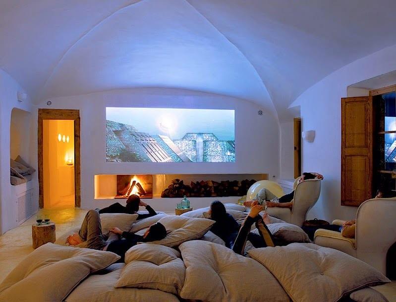 Cine en casa con los proyectores de RICOH