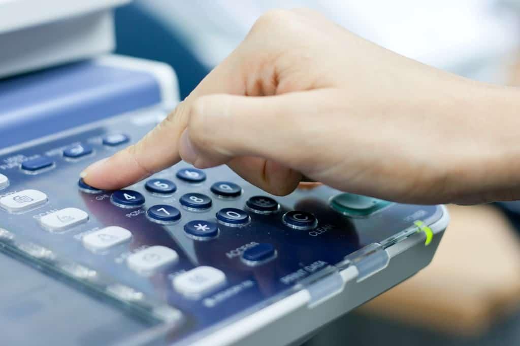 Riesgos con el fax en el sector salud
