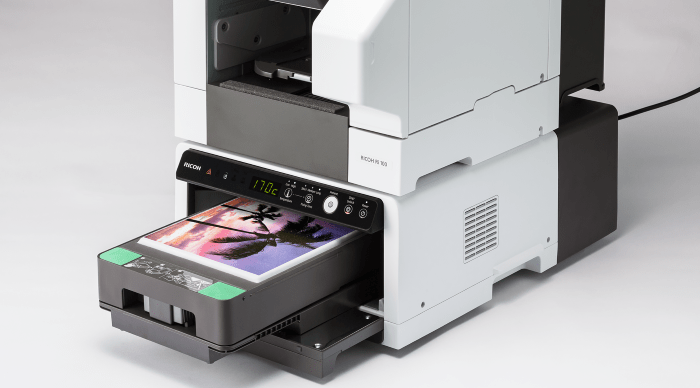 Impresora DTG para impresión textil de bajo volumen