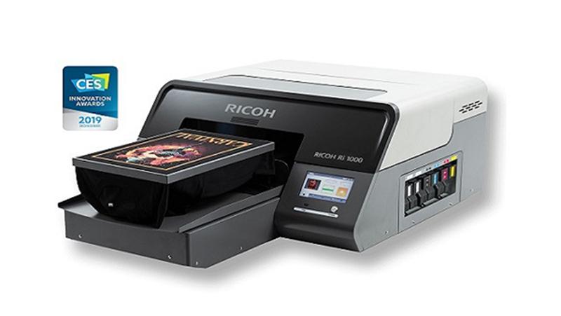 Ricoh Ri 1000 rendimiento profesional en impresión textil