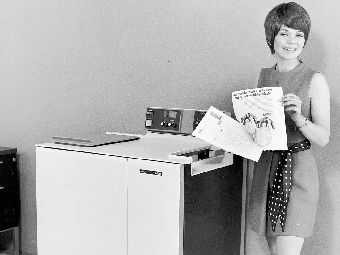 Impresoras: Un viaje en el tiempo